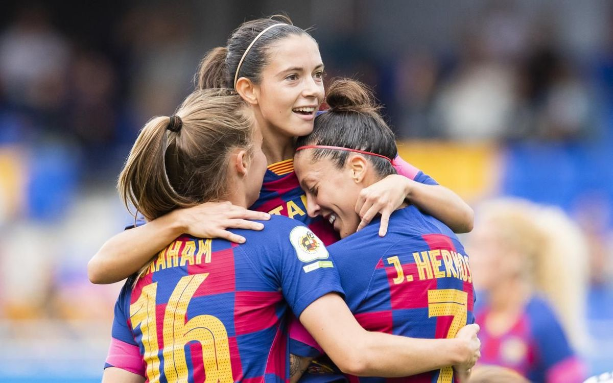 FC Barcelona Women – Logroño: A win with authority (5-0)