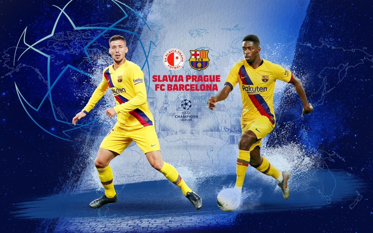 Image result for Barcelona vs Slavia Prague Live