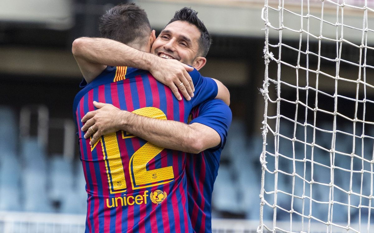 La Agrupación es el punto de encuentro para todos los que han jugado en el FC Barcelona.