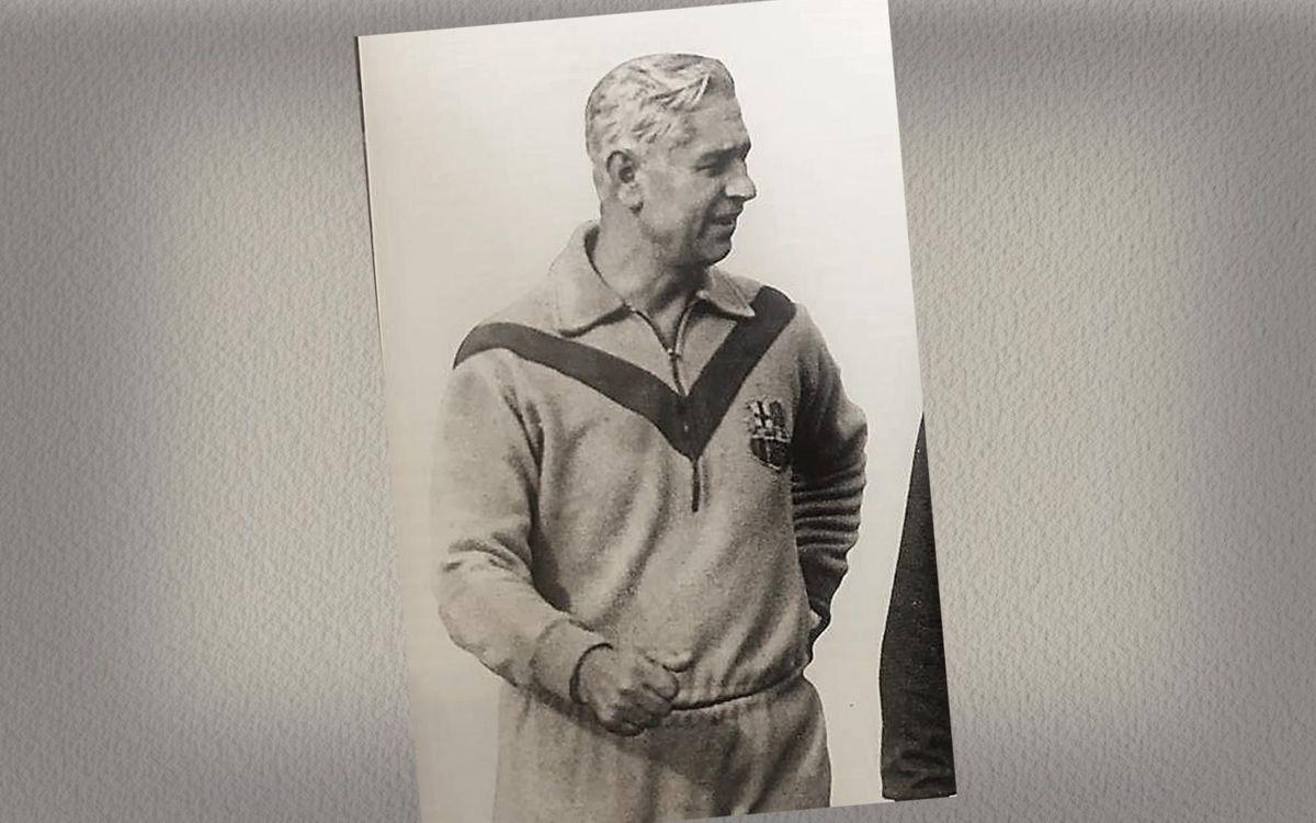 Ferdinand Daucik: Slavia captain, Barça manager