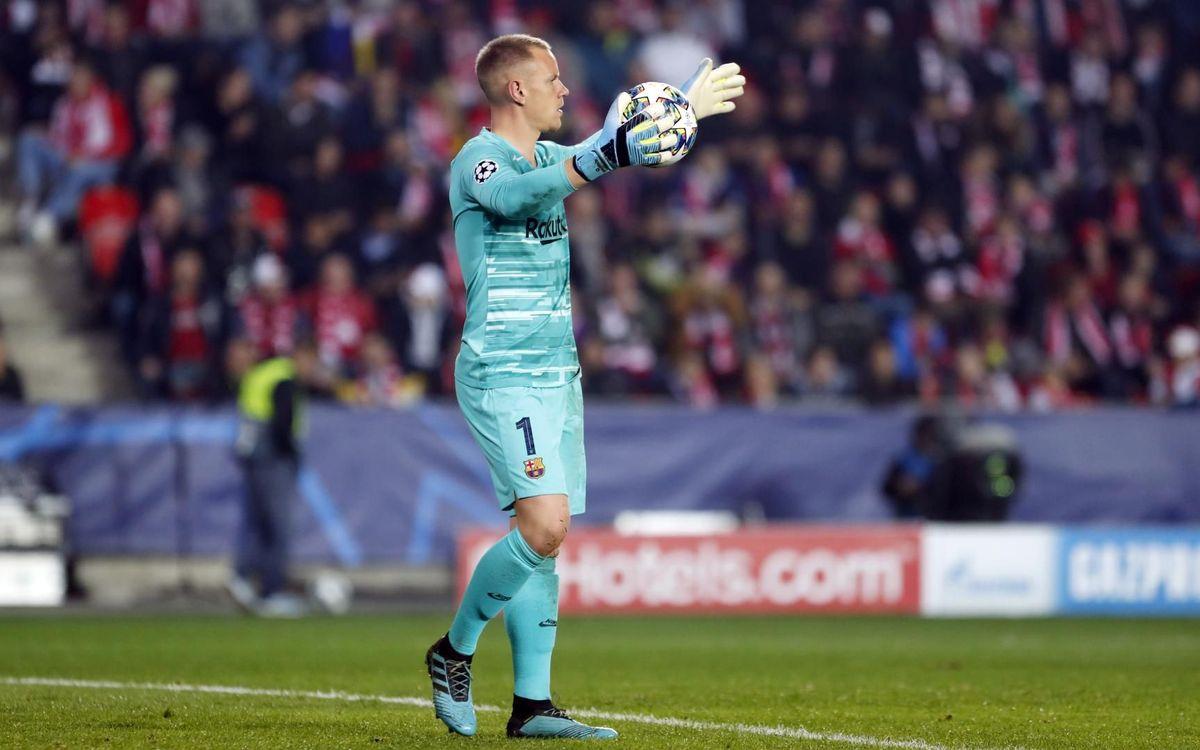 Marc-André ter Stegen's impressive Champions League continues