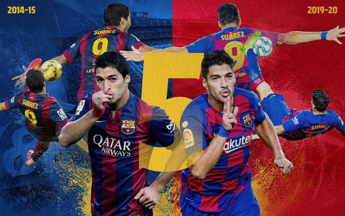 Five years of Suárez magic