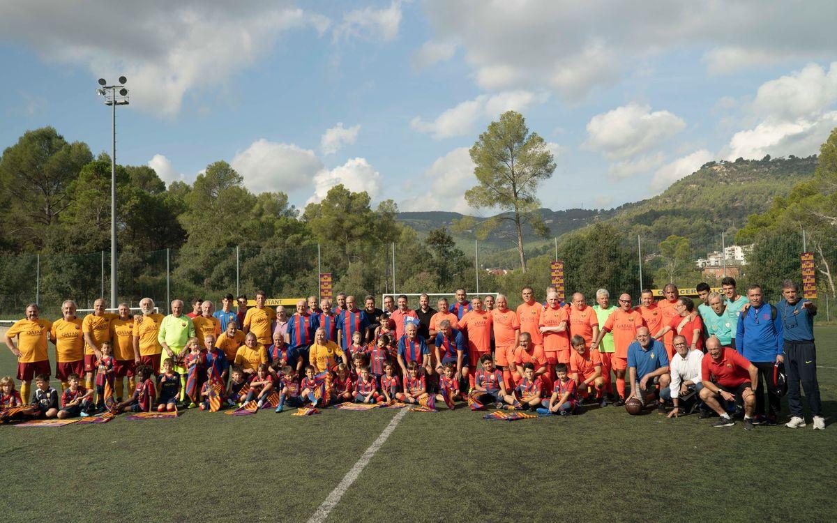 L'equip +55 de la ABJ participa en el primer triangular de la temporada a Cervelló