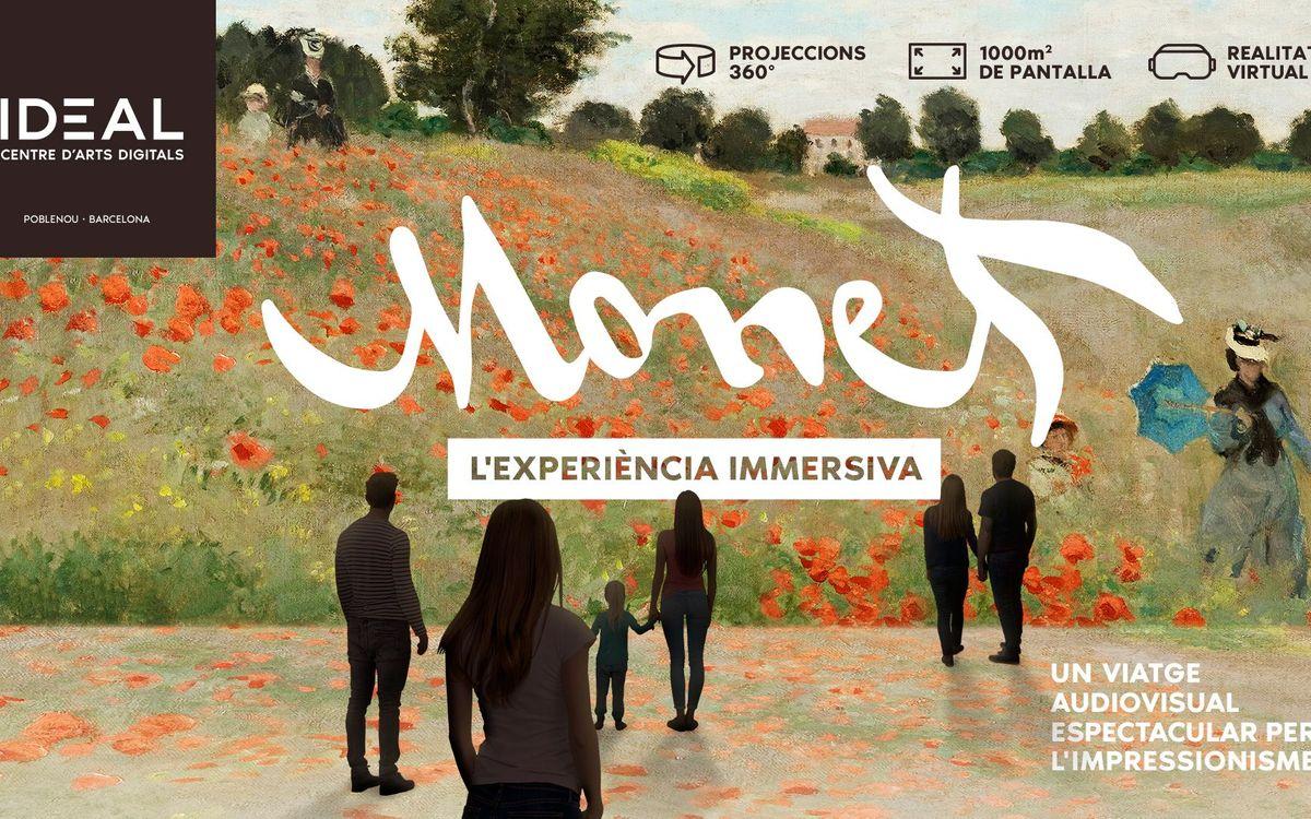2x1 per a l'exposició audiovisual i de realitat virtual sobre l'impressionisme