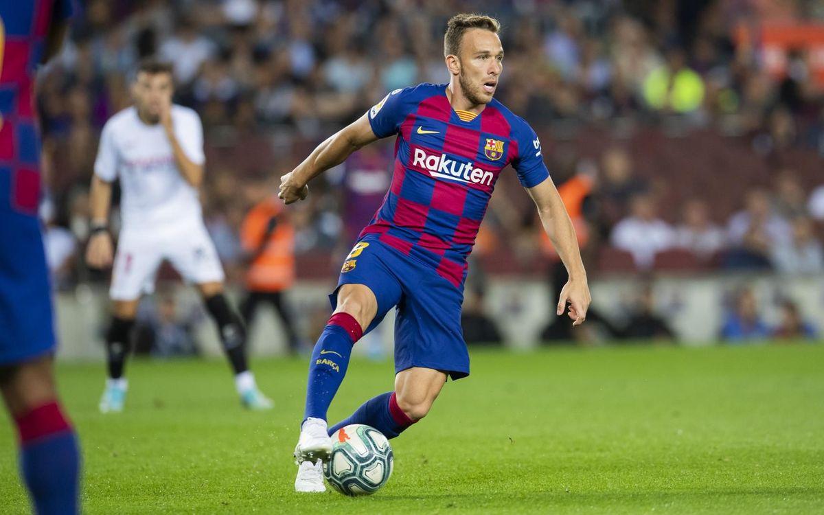 Arthur, convocado con Brasil
