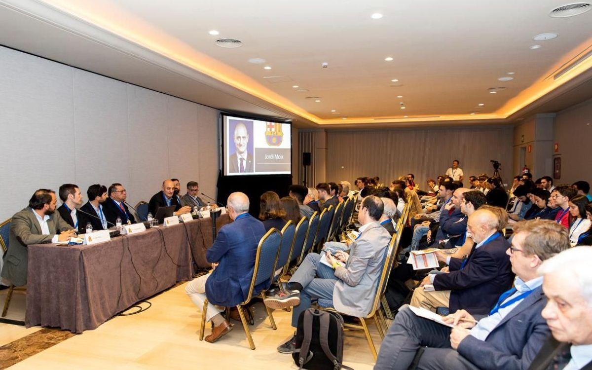 Jordi Moix expone el papel del Barça en la aplicación del 5G en las instalaciones deportivas