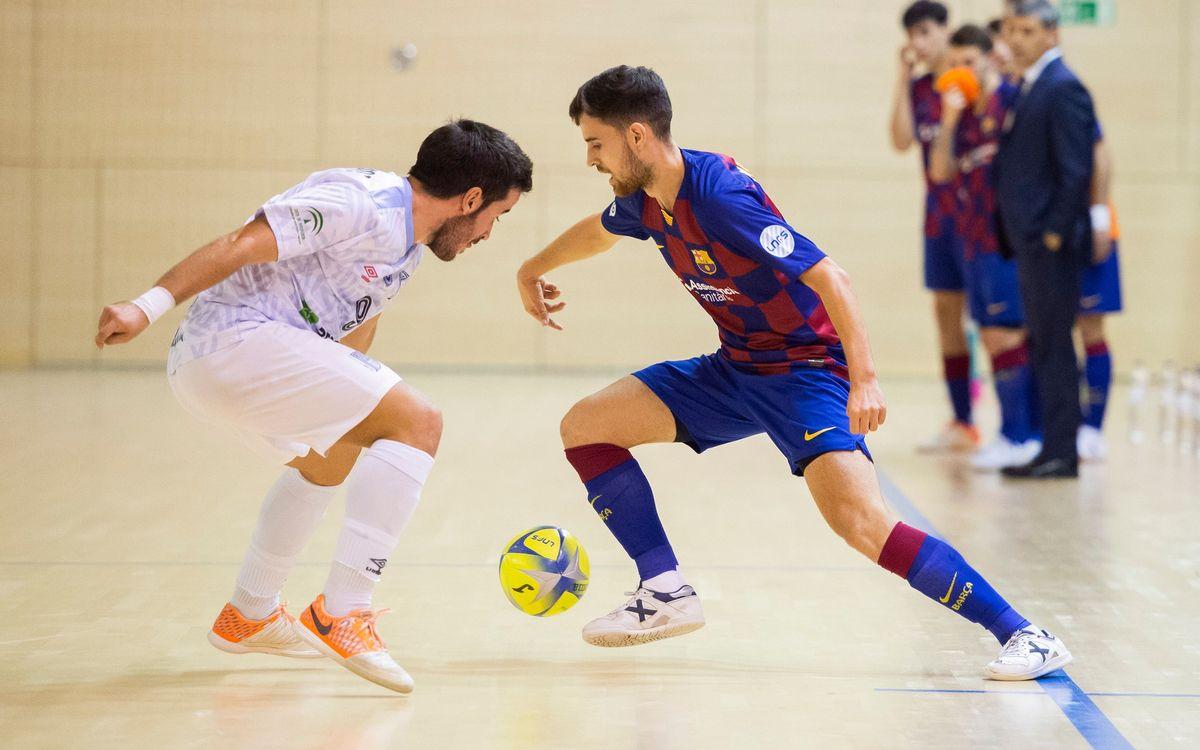 Barça B – BE Soccer UMA Antequera (2-3):