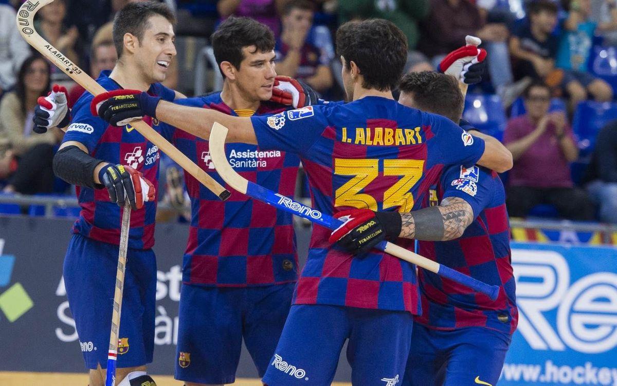 Barça – CP Voltregà: ¡Como en casa, en ningún sitio!