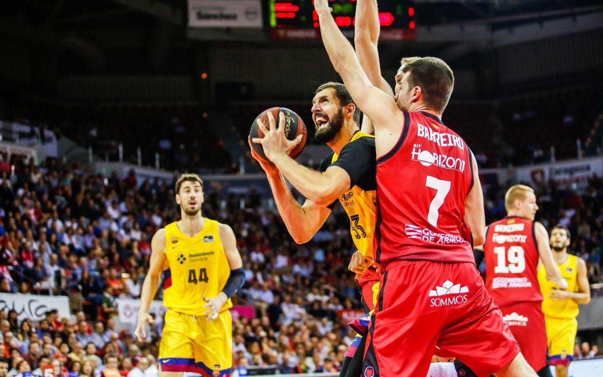 Casademont Saragossa – Barça: Segona derrota a l'ACB