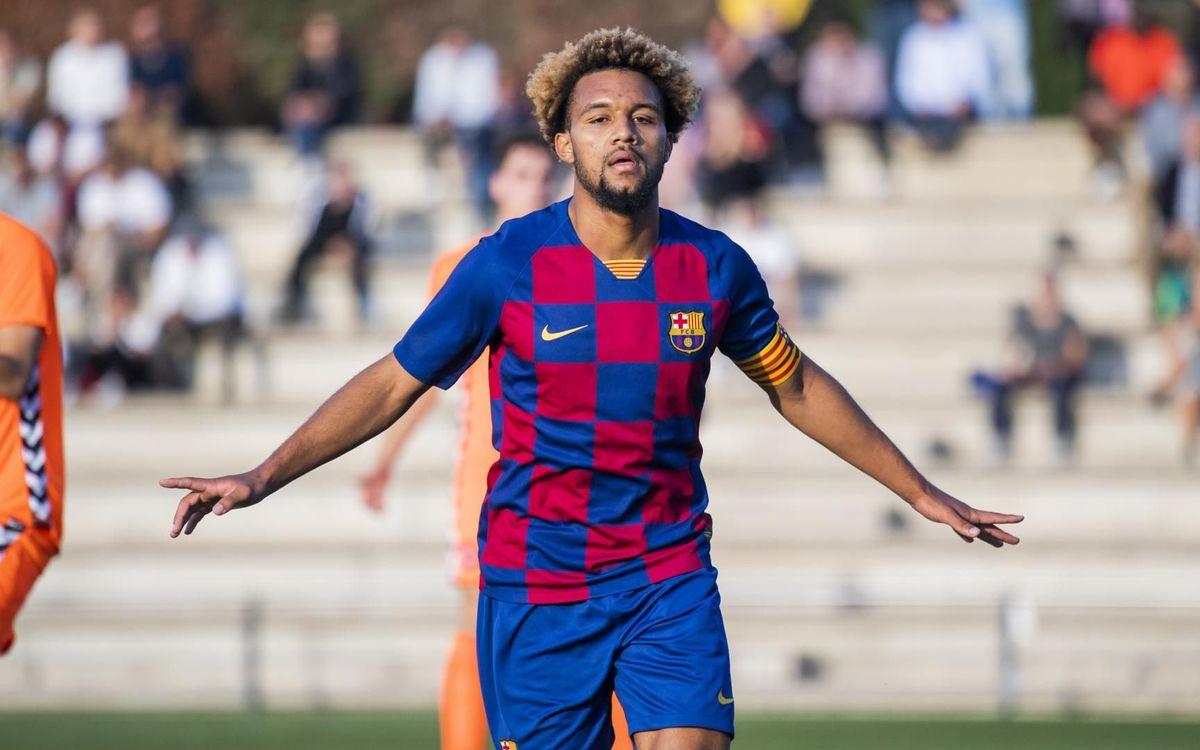 Juvenil A - Ebro: Goleada para reencontrarse con la victoria en la Liga (6-0)