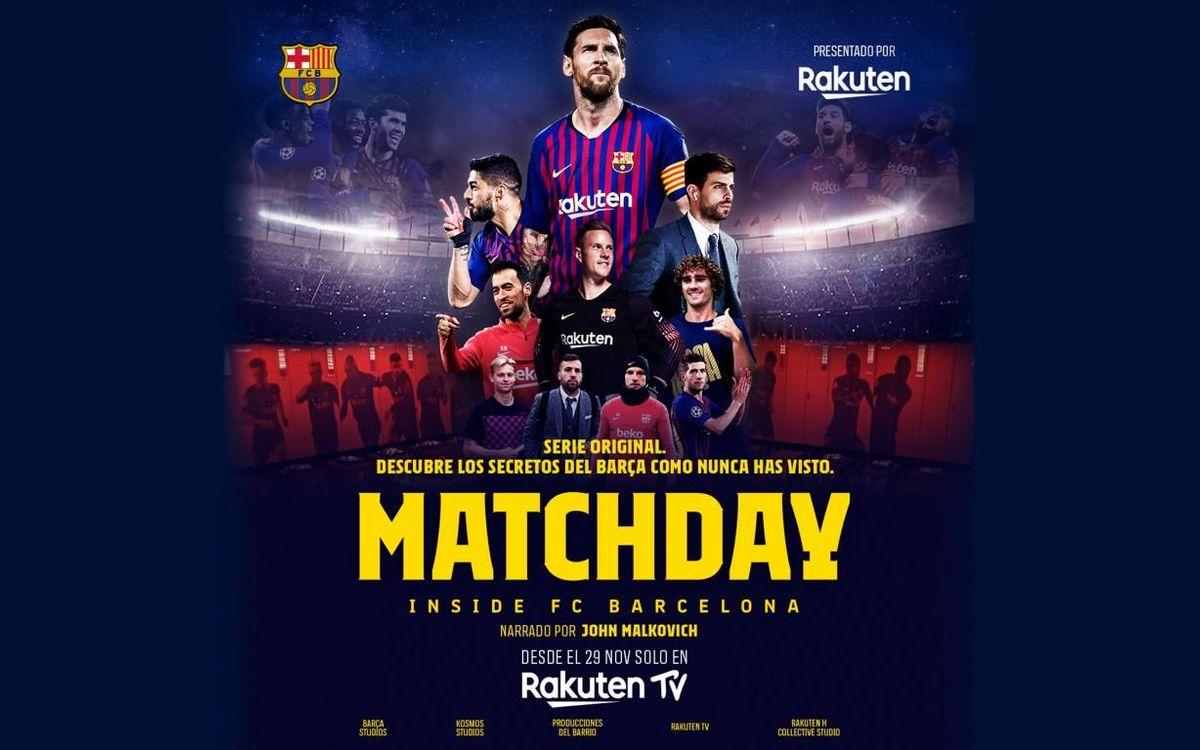Matchday se estrenará el 29 de noviembre.
