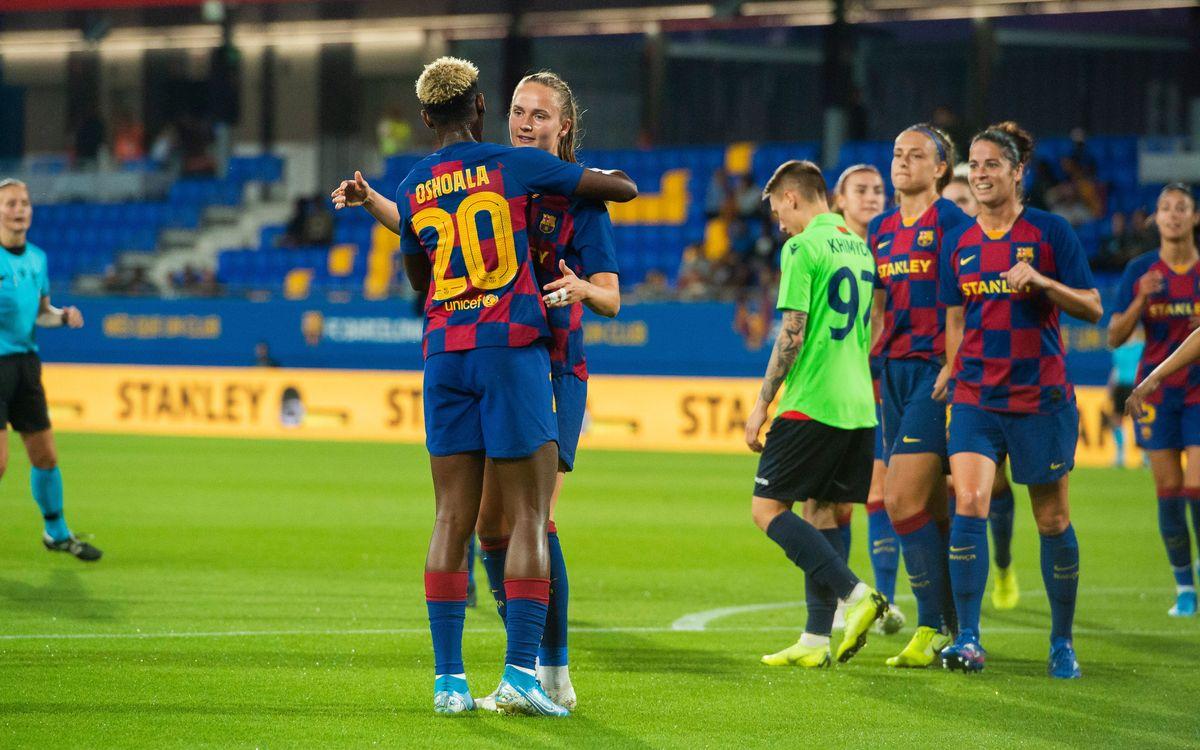 FC Minsk - FC Barcelona Femenino (previa): La hora de la verdad