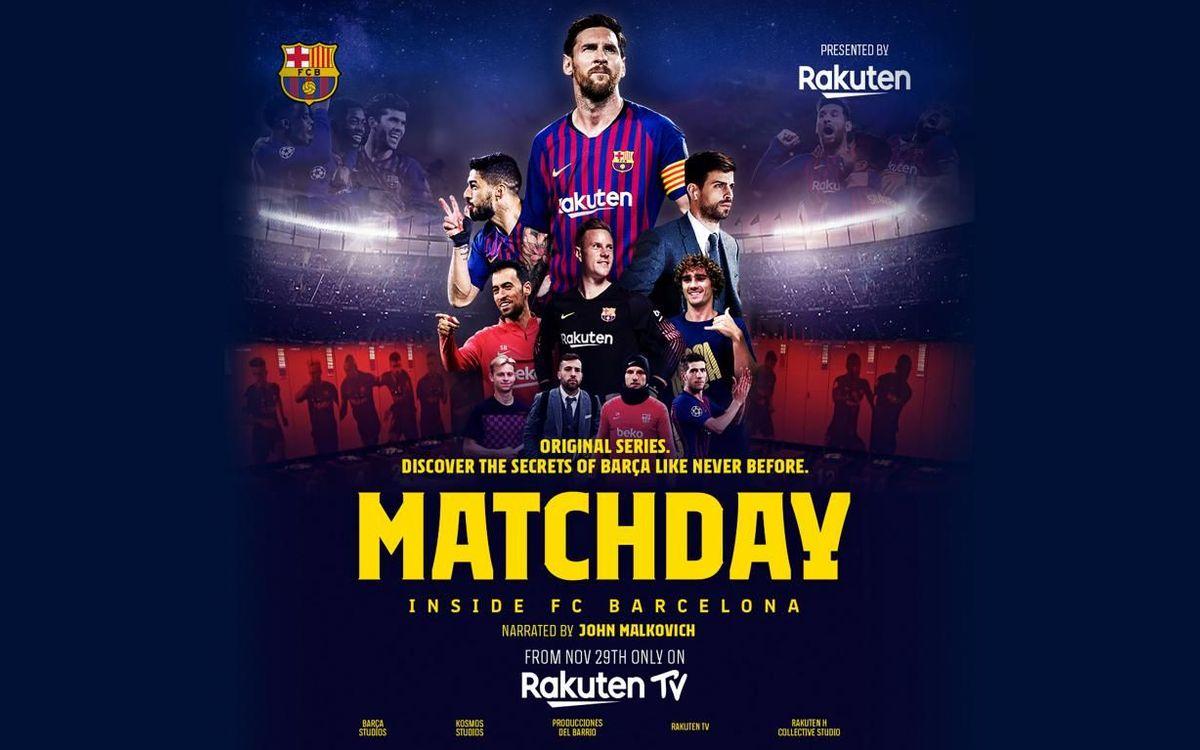 Le FC Barcelone et Rakuten présentent Matchday