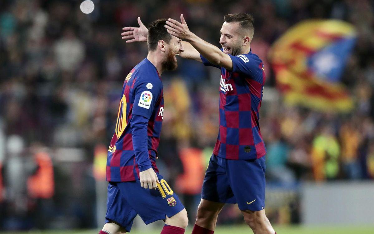Barça – Valladolid : Quand Messi va, tout va ! (5-1)