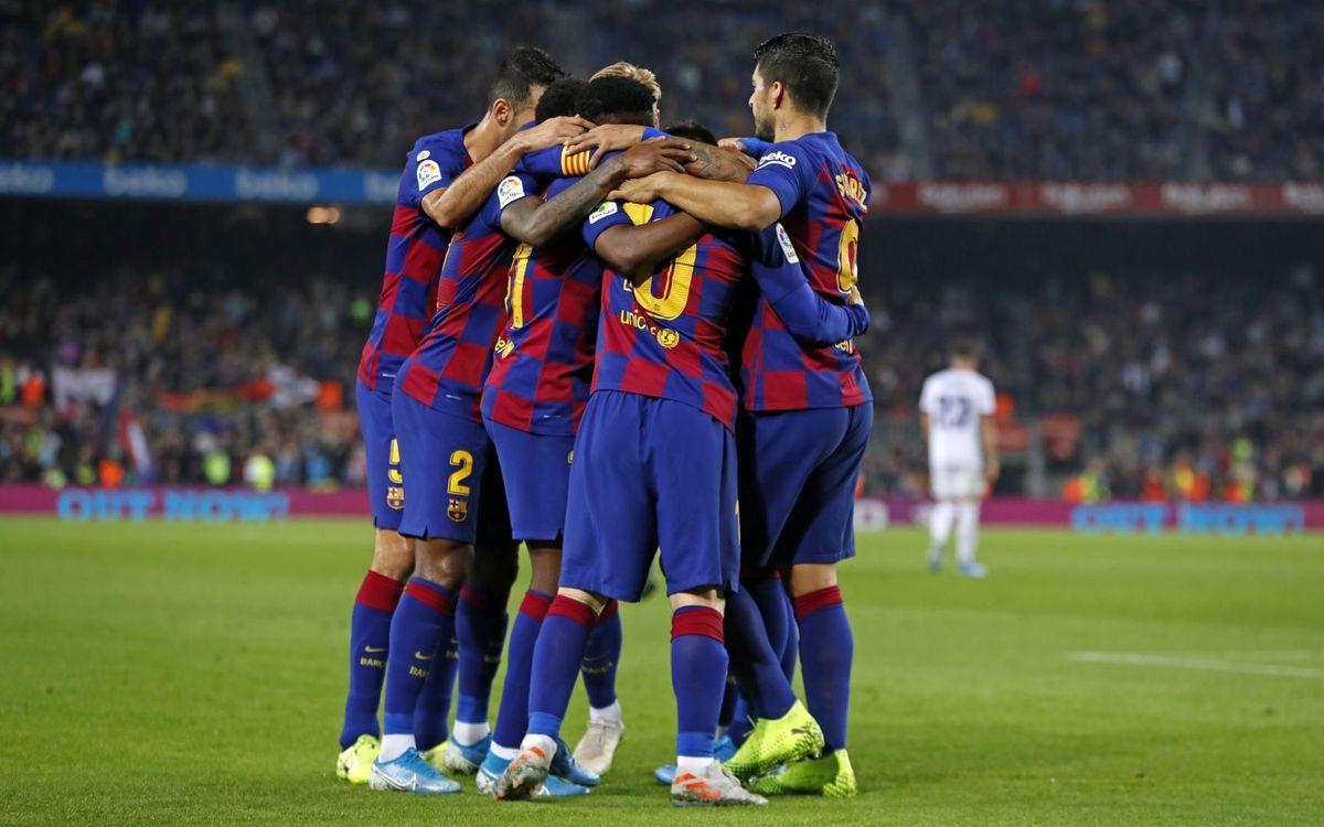 El Barça iguala la segunda mejor racha con Valverde