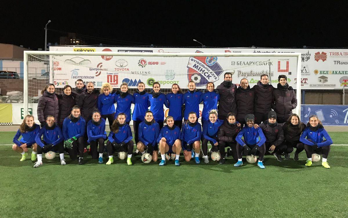 Se reencuentran con el FC Minsk Stadium