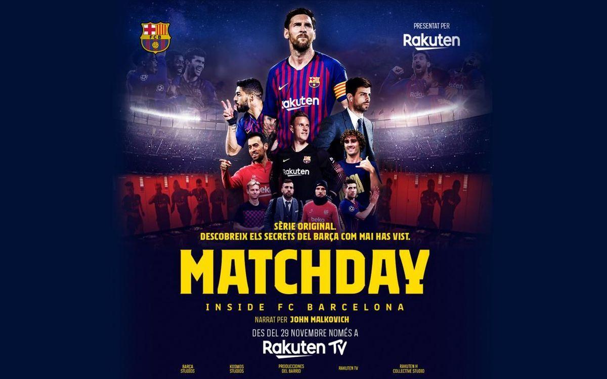 Matchday s'estrenarà el 29 de novembre.