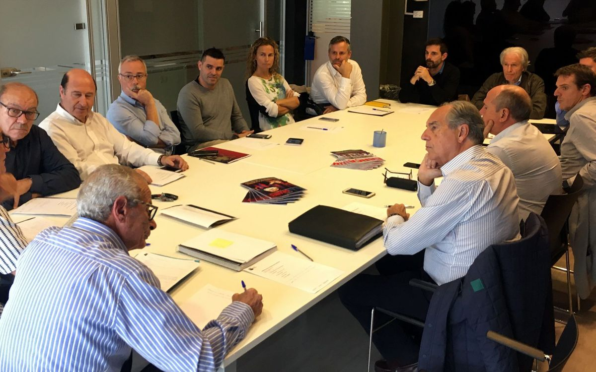 Reunió de la Junta Directiva de l'Agrupació