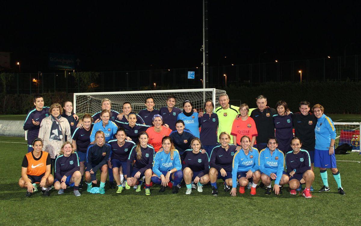 Primer entrenament de l'ABJ Femení a la Ciutat Esportiva. ABJ