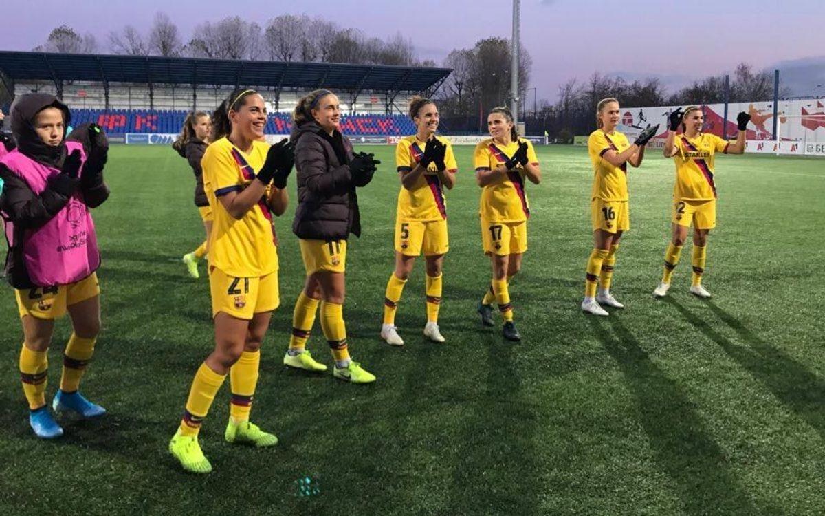 Minsk - FC Barcelona: A cuartos por la puerta grande (1-3)