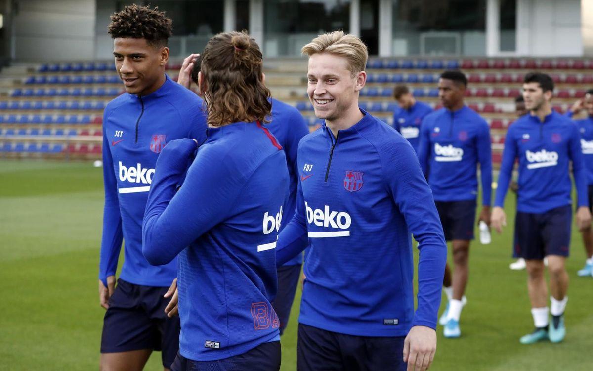 Le groupe du Barça convoqué pour Levante