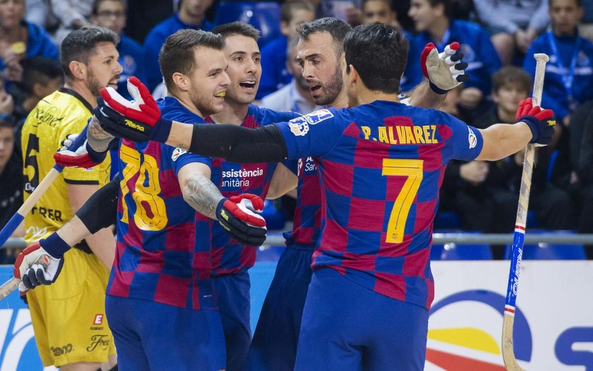 Barça 5-1 Noia Freixenet: Goals galore at the Palau