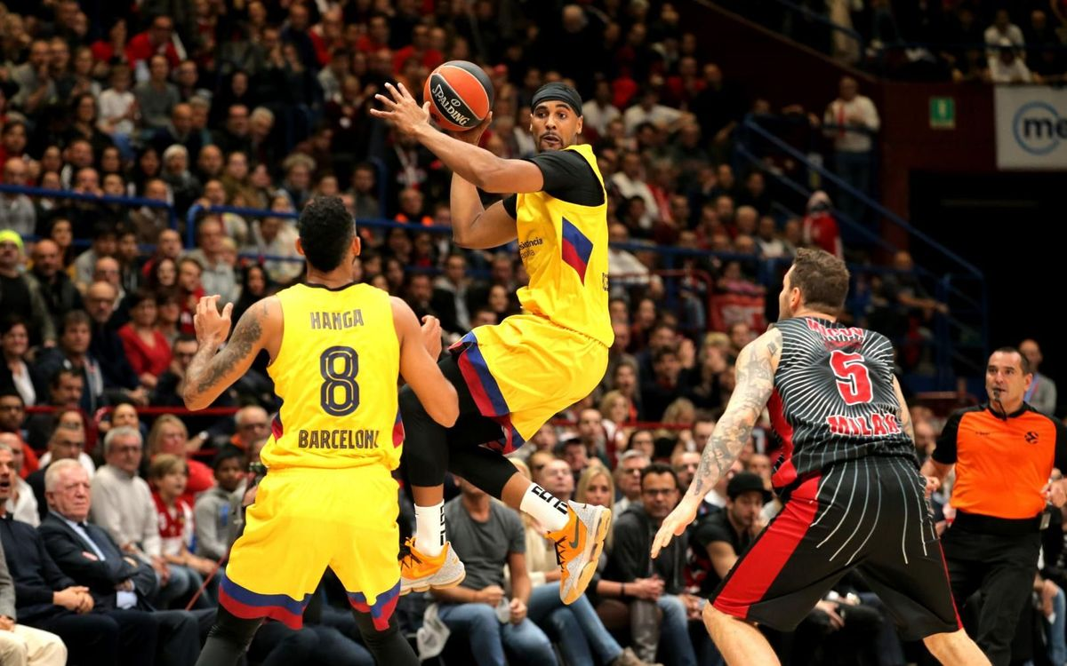 Olimpia Milano 83-70 Barça: First defeat in Europe