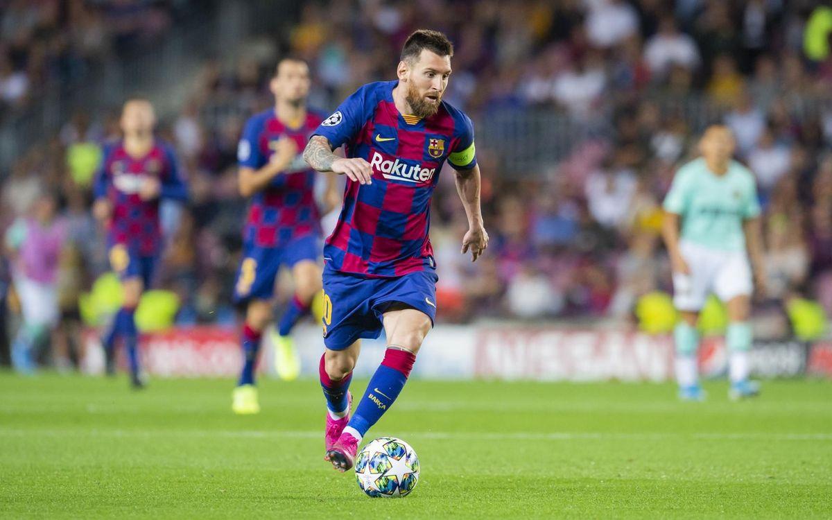 Leo Messi, un seguro en los octavos de la Liga de Campeones