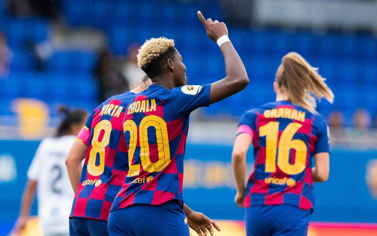 Barça Femenino - Levante (previa): Fortín a prueba