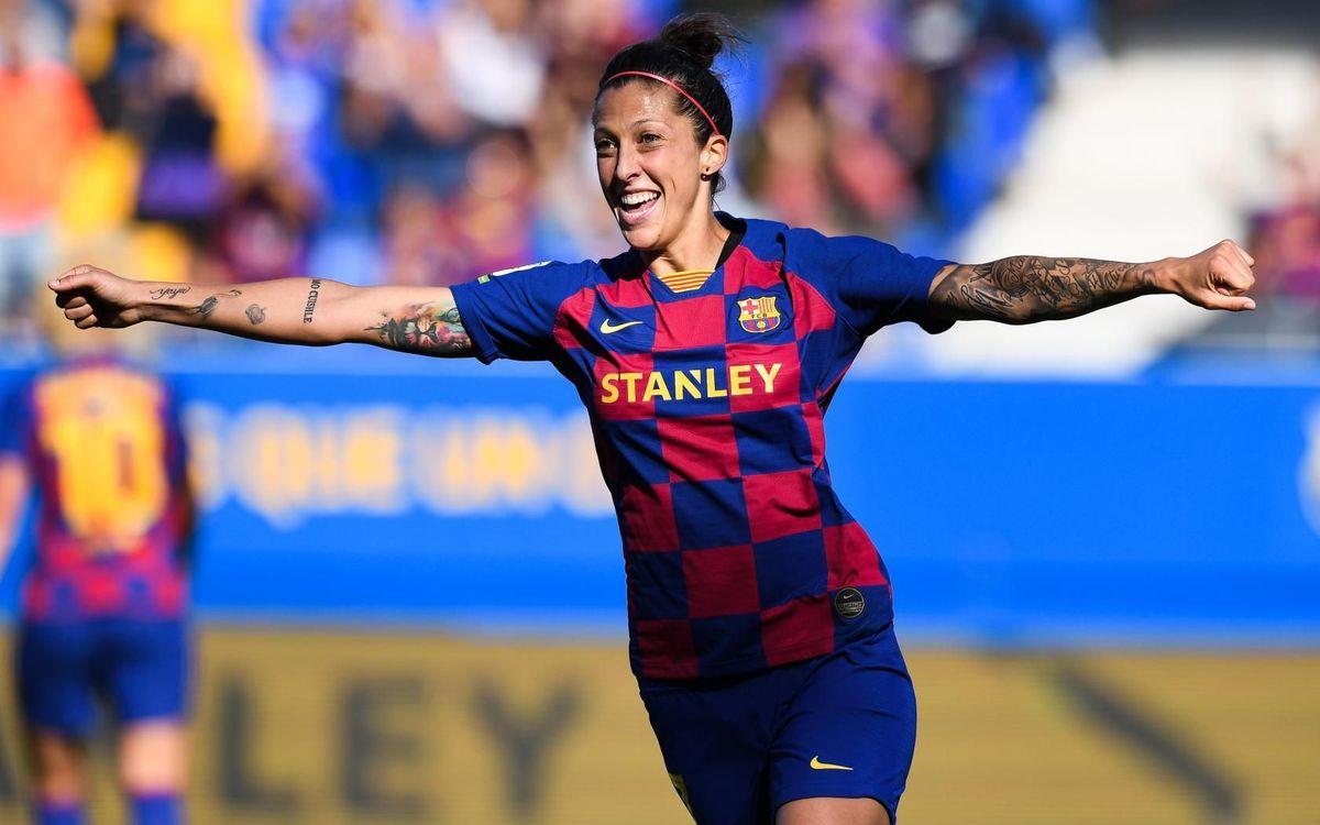 Barça Femenino - Levante: Premio a la persistencia (5-0)