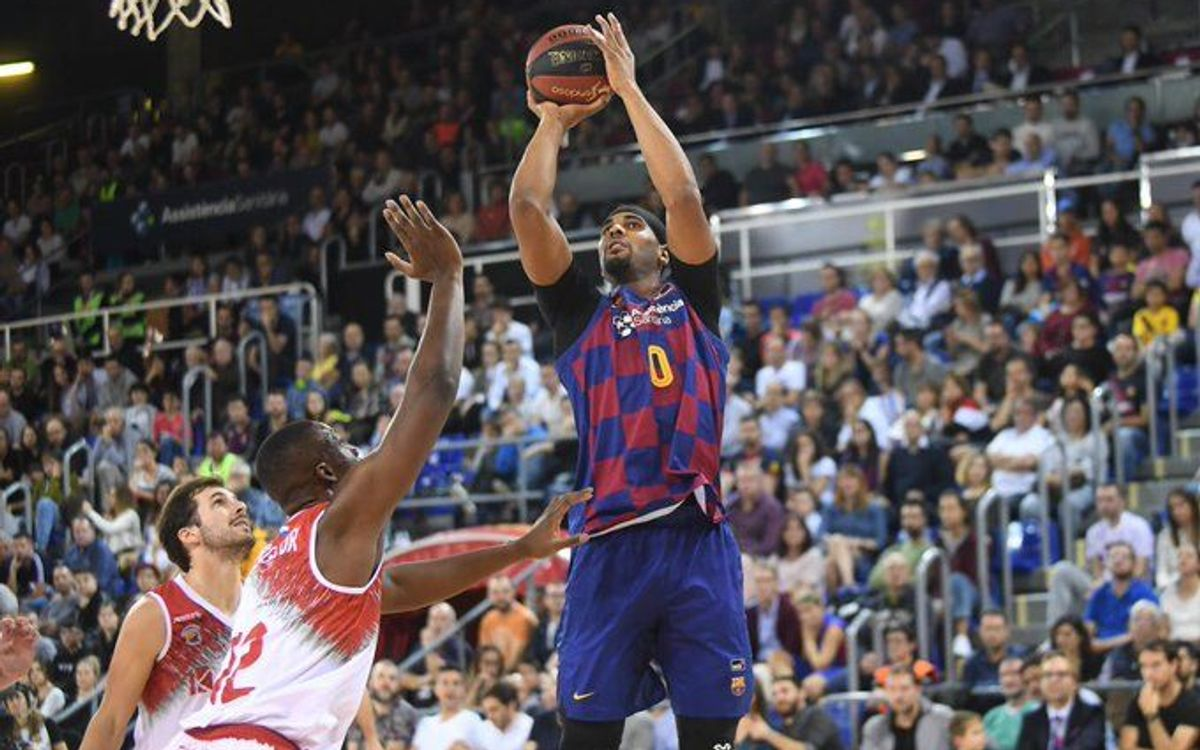 Barça 87-74 Montakit Fuenlabrada: Solid work at the Palau