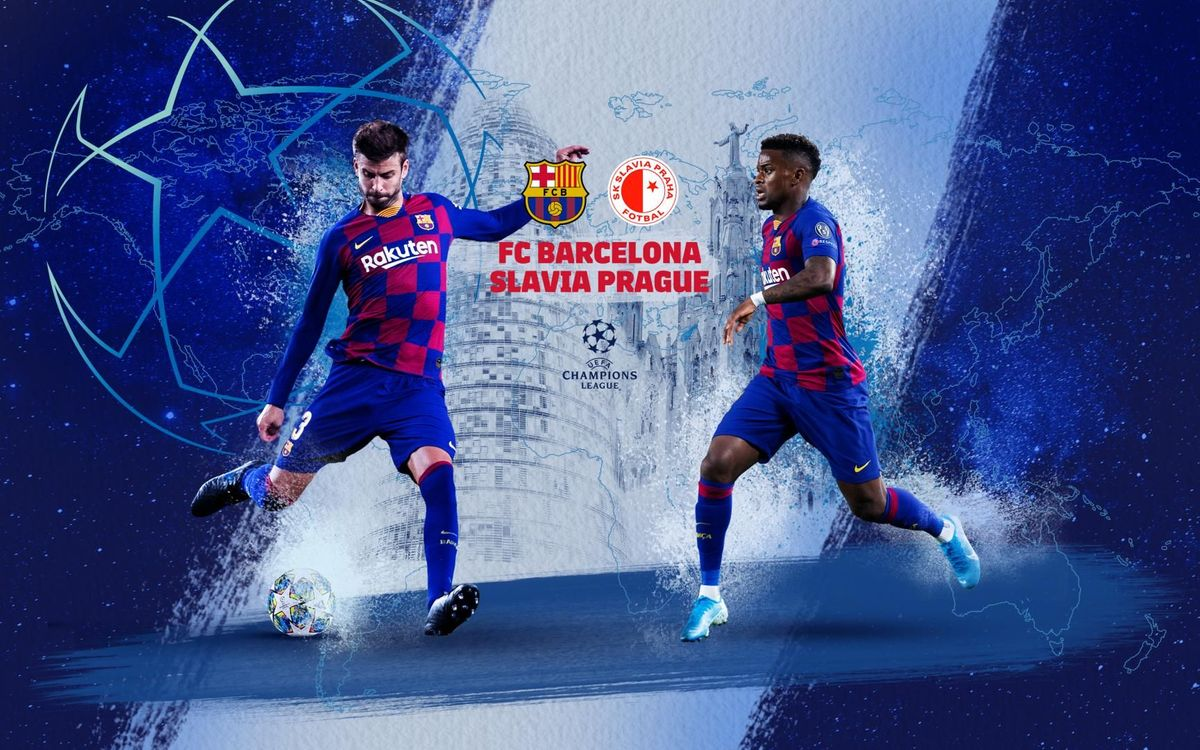 When and where to watch Barça – Slavia Prague