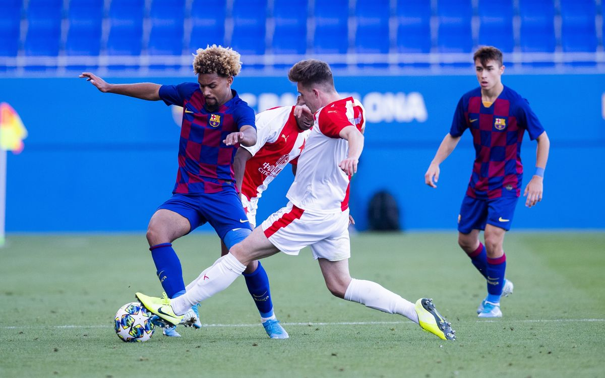 UEFA Youth League: Barça 2-3 Slavia Prague