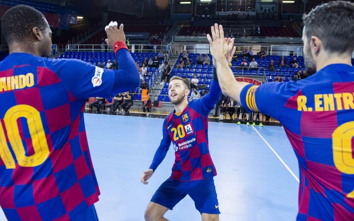 Barça – Frigoríficos Morrazo: Parèntesi al Palau per a la Lliga