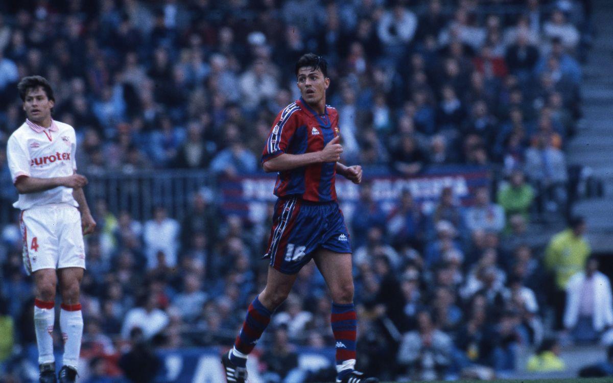 Òscar Garcia returns to Camp Nou