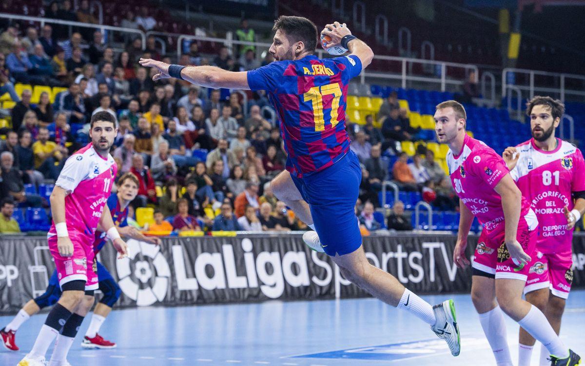 Barça 39-18 Frigoríficos Morrazo: Huge win
