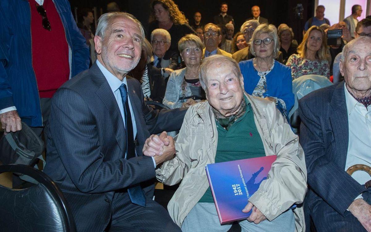 Muere el exazulgrana Paco Valsecchi a los 99 años de edad