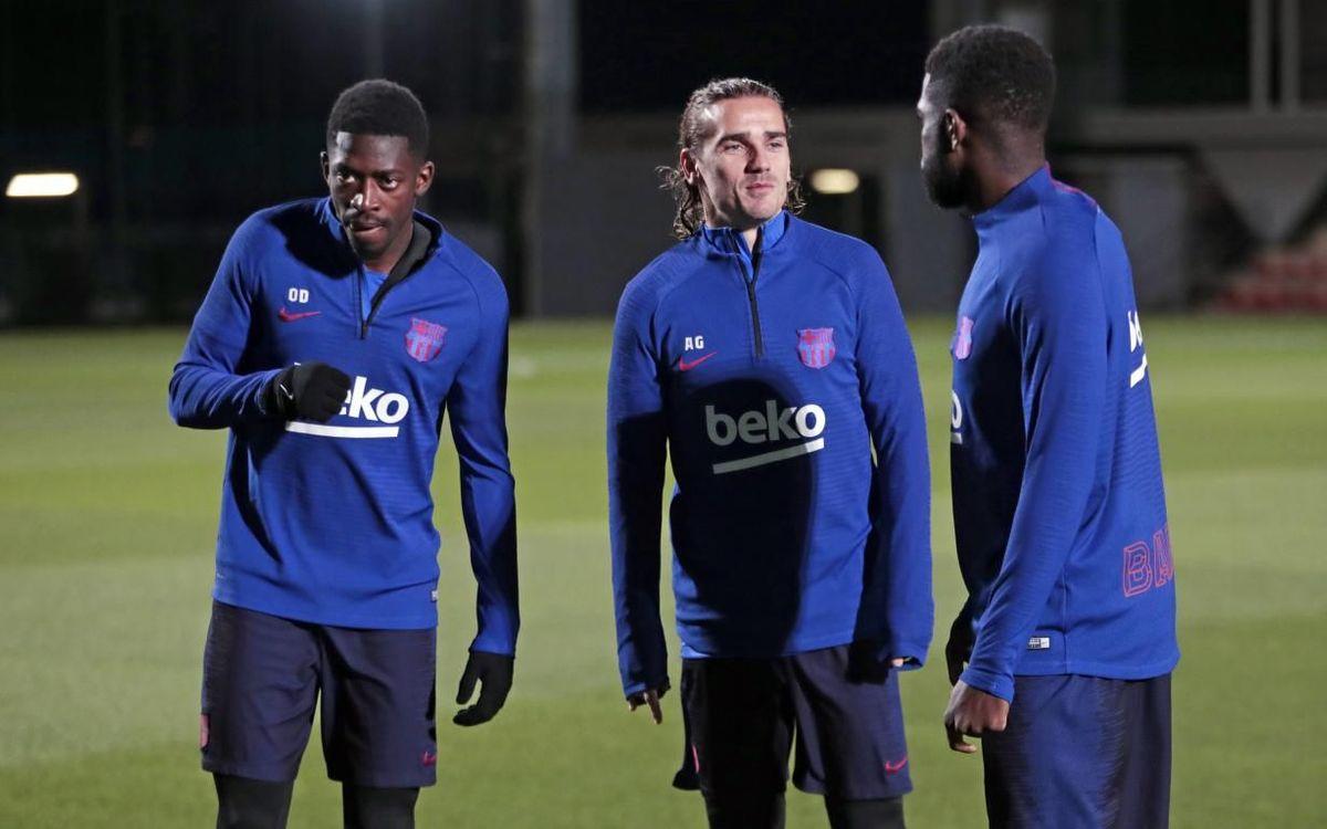Le groupe convoqué du Barça contre le Celta