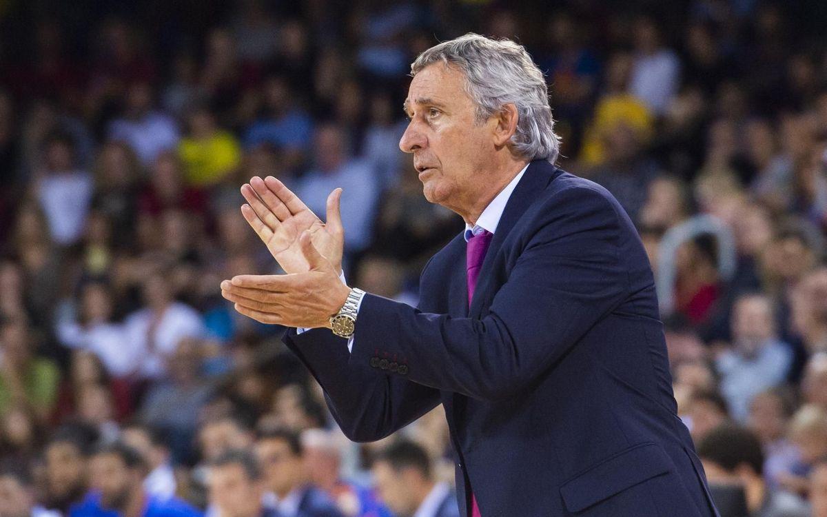 Pesic arriba a les 200 victòries com a entrenador del Barça
