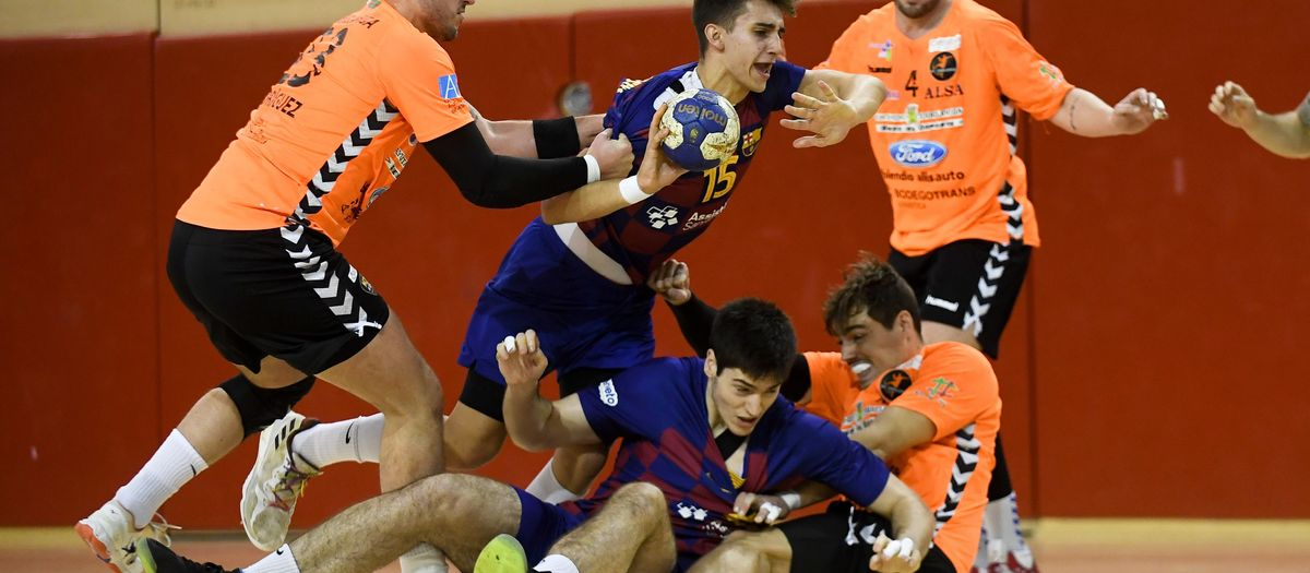 Barça B – Ford Alisauto BM Torrelavega (27-22):  Victòria davant un gran de la categoria