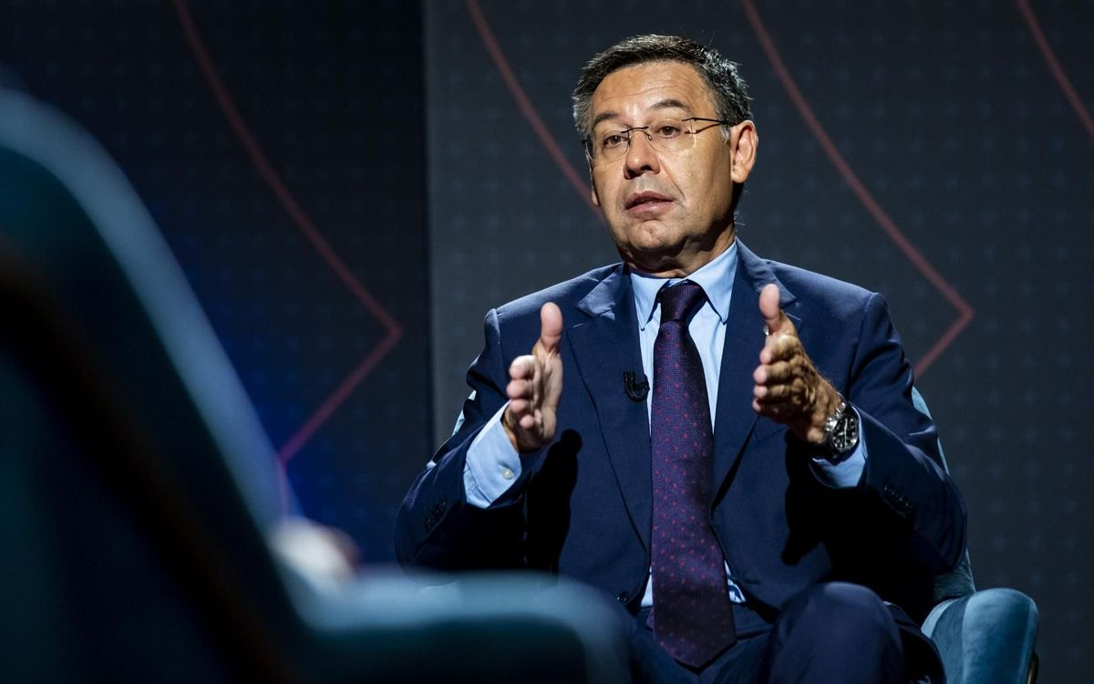 Bartomeu: 'Messi will be linked to Barça for life'