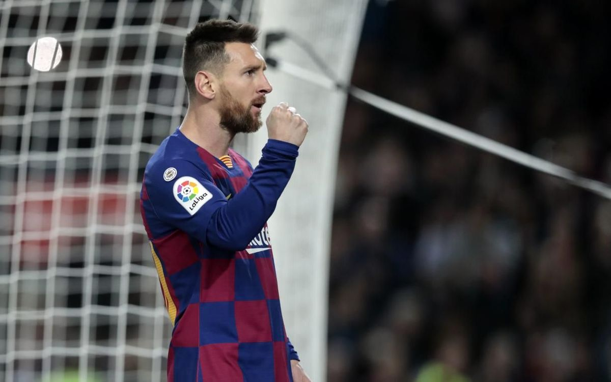 Messi, named La Liga's player of the month for November