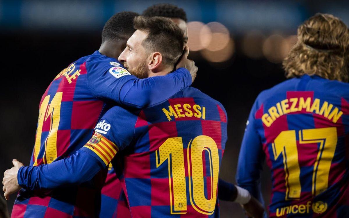 ¿Cómo le va al Barça después del parón?