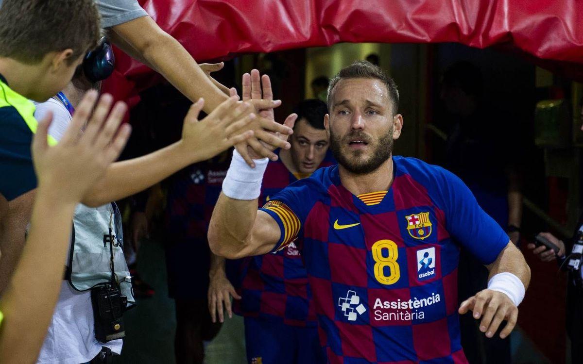 Viveros Herol BM Nava – Barça: Desplazamiento inédito sin descanso