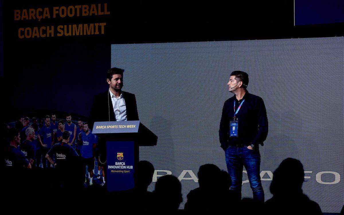 El 'Barça Football Coach Summit' obre la setmana dedicada a la tecnologia al servei de l'esport que organitza el BIHUB