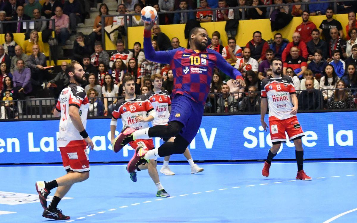 Viveros Herol BM Nava - Barça: Estrenen una nova victòria (24-39)