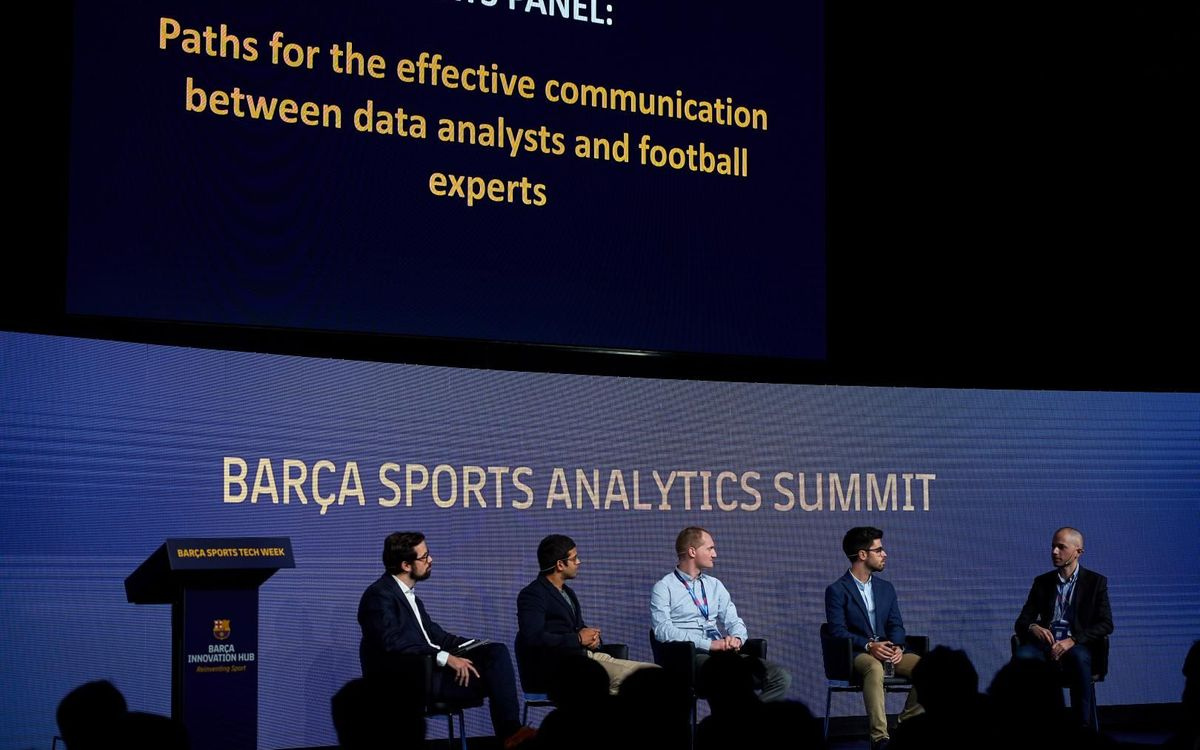 The 'Barça Sports Analytics Summit analyses the contribution of data to the tactics in football