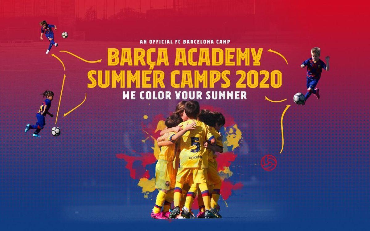 BARÇA ACADEMY Summer Camp 2020