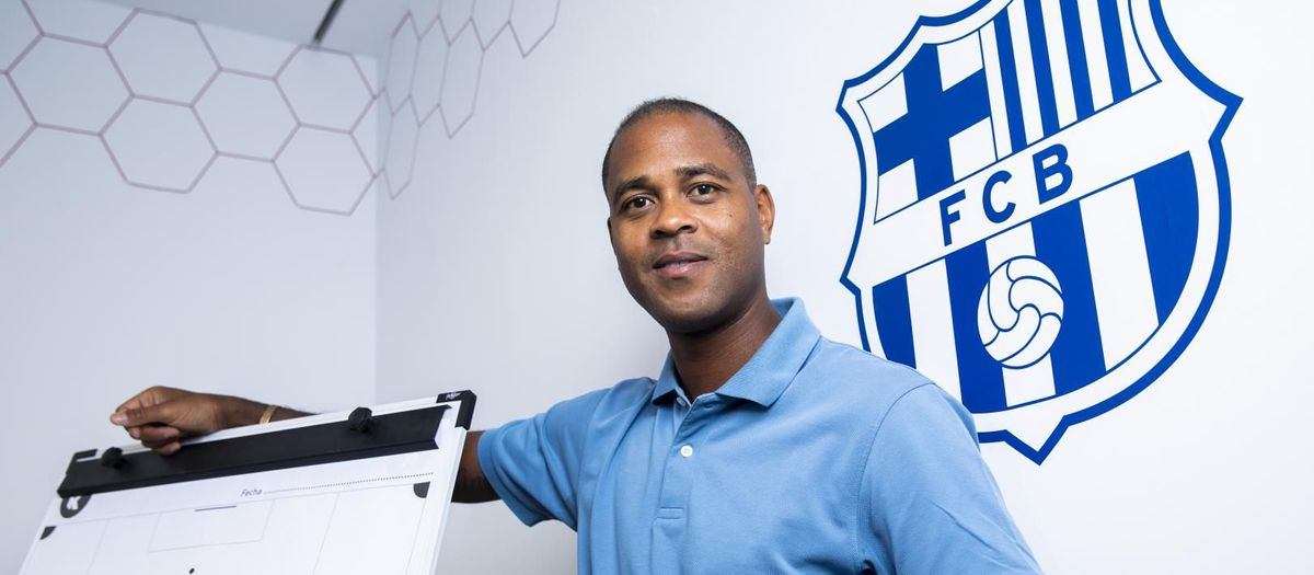 Patrick Kluivert: 'It's essential for the first team to have home grown young players'