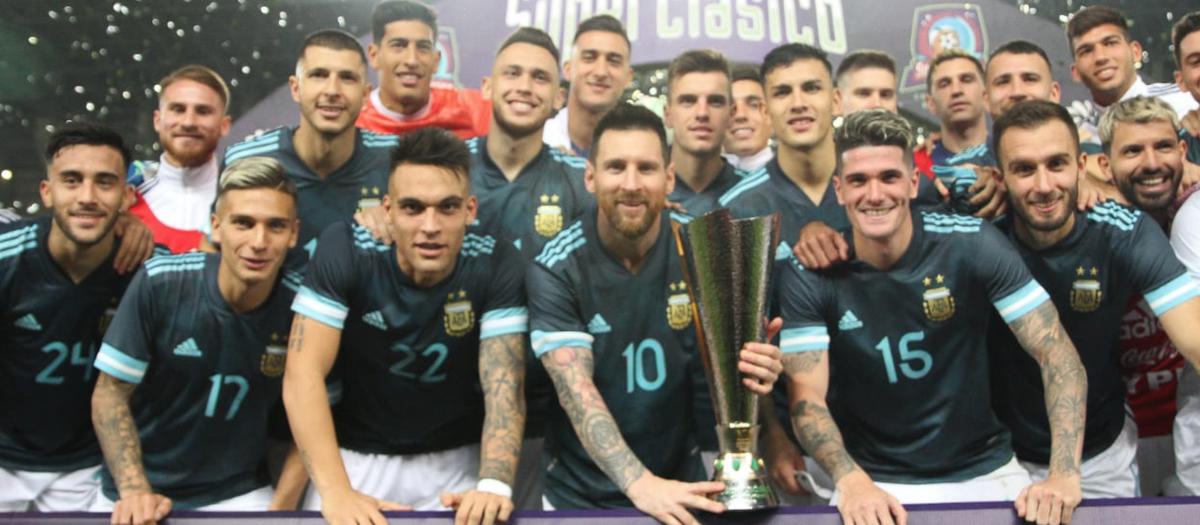 Messi da la victoria a la Argentina ante el Brasil de Arthur